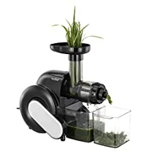buy Vonshef Wheatgrass Slow Juicer - Create Wheatgrass, Fruit & Vegetable Juices