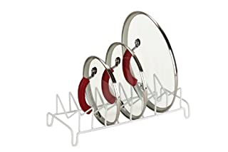 Honey-Can-Do KCH-02164 Cushion Coated Steel Wire Lid Organizer, White