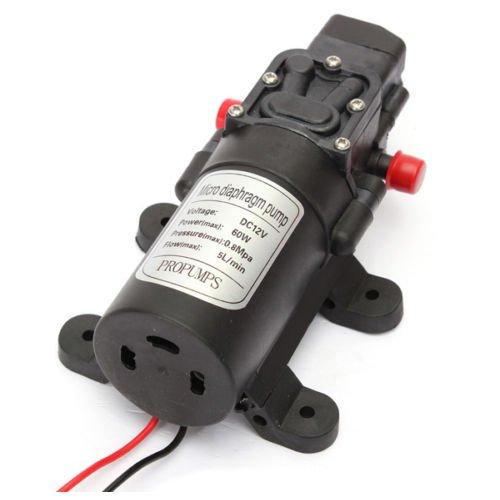 Micro Diaphragm Pump - SODIAL(R)Micro Auto Motor Diaphragm High Pressure Water Pump Automatic 115 PSI. (Dc High Pressure Water Pump compare prices)