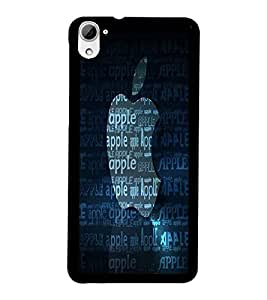 PrintDhaba Typography D-2213 Back Case Cover for HTC DESIRE 826 (Multi-Coloured)