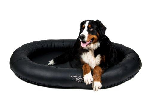 Artikelbild: TrendPet 'Comfado' 130x90cm black, Luxus Hundebett aus Soft-Kunstleder 'Das Hundebett'