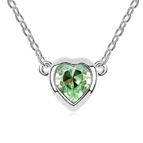 Boxingcat Fine Jewelry Swarovski Style Clear Austrian Crystal Pendant Necklaces Bgca9226 front-1008733