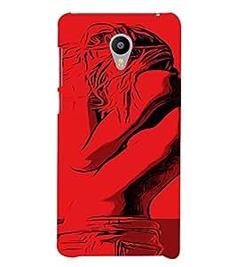 PrintVisa Cool Girl 3D Hard Polycarbonate Designer Back Case Cover for Meizu M3 Note