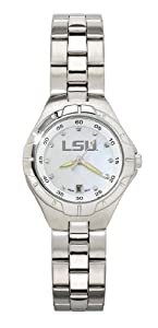LSU Ladies Pearl Watch by NCAA Officially Licensed