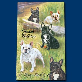 French Bulldog Roller Ball Pen Designer Ruth Maystead (French Bulldog Pen compare prices)