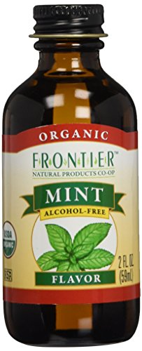FRONTIER HERB FLV MINT ORG, 2 OZ (Extract Mint compare prices)