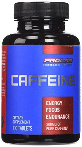 ProLab Caffeine Climactic Potency 200mg Tablets, 100-Count
