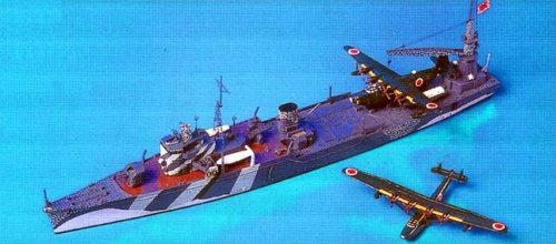 1/700 日本海軍 飛行艇母艦 秋津洲 W50