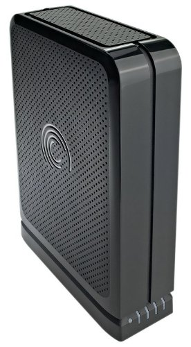 Seagate 1TB External USB 2.0 Desktop Hard Drive with FreeAgent GoFlex Desk Series and 2 Years Warranty - Black