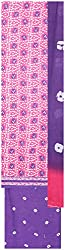 Payal Collection's Women's Cotton Unstitched Salwar (Pink and Purple)