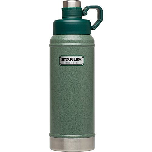 Stanley Classic Vacuum Water Bottle, Hammertone Green, 36 oz (Stanley Cycle Flask compare prices)