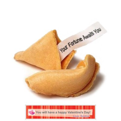 Greenfire Custom Fortune Cookies (120 count,