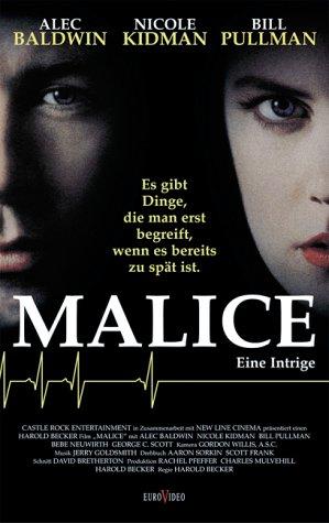 Malice - Eine Intrige [VHS]
