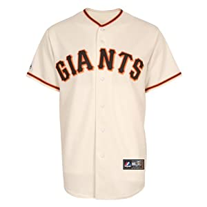 MLB San Francisco Giants Home Replica Jersey, Ivory, Medium