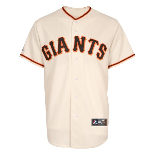 MLB San Francisco Giants Home Replica Jersey, Ivory, Large