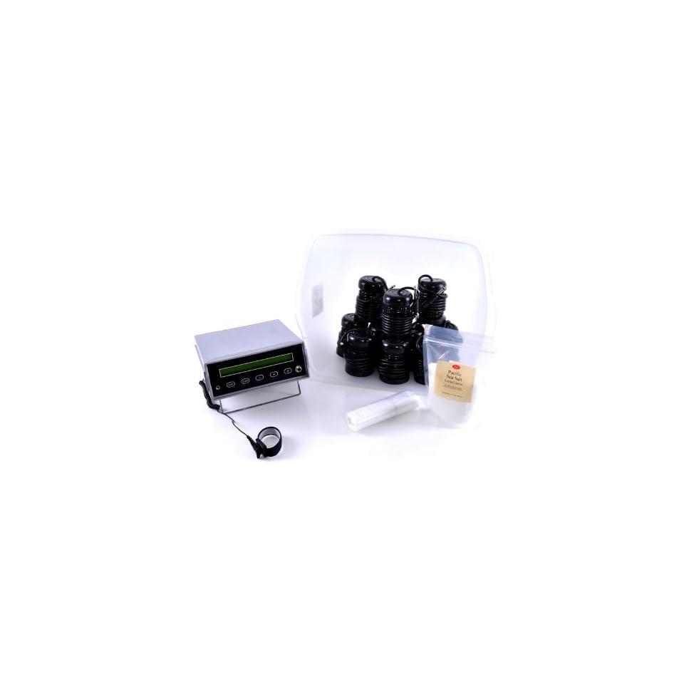 2X Power Professional Ionic Detox Feet Foot Bath Ion Cleanse Set