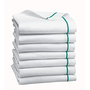 "MEDLINE 1 Dozen Herringbone Cotton Dish Towels 15""x26"" (Quantity 12) Satisfaction Guaranteed"