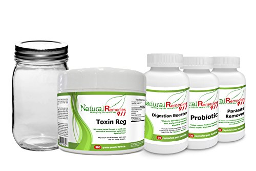 Colon Cleanse 5-in-1 Organic Colon Detox Program By Natural Remedies 911 Supports Weight loss. Ultimate Kit - Includes 3 Intense Colon Cleanse And Toxin Removal Options To Choose From; PLUS, a 10 Day Parasite Removal Program! Select Your Program - Our 8 Day Superior Cleanse Includes 4 Days of Liquids Only Fasting (Highly Recommended), Or The 7 Day Great Cleanse (With Modified Food Intake), Or The 30 Day Good Cleanse (no food modification)! Finally A 30 Day Probiotic Replenish/Restore Program! (Fasting Program compare prices)