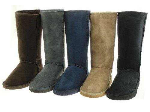 Fellboots Stiefel Fellstiefel Damenstiefel Fell Boots