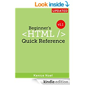 Beginner's HTML Quick Reference