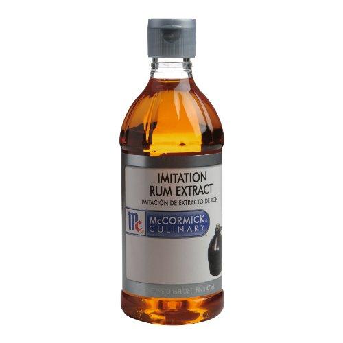 McCormick Imitation Rum Extract, 16-Ounce Plastic Bottle
