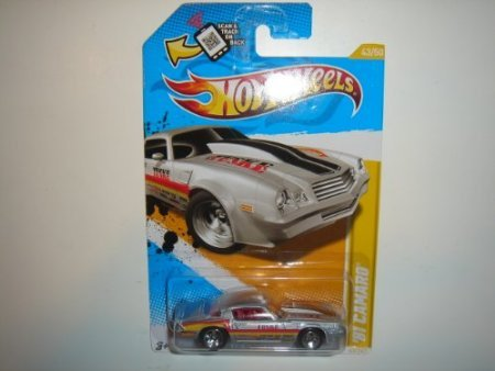 2012 Hot Wheels New Models '81 Camaro Silver #43/247 - 1