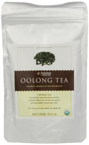 Extreme Health Usa Extreme Health'S Organic Oolong Tea, Total Health Loose Leaf Tea, 4 Ounce Pouch