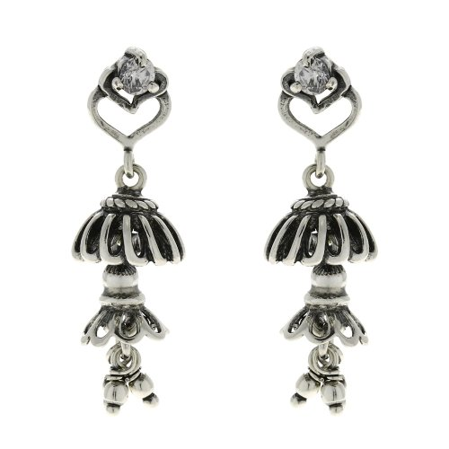 Jhumki Earrings For Women Dangle Jewellery Indian Sterling Silver