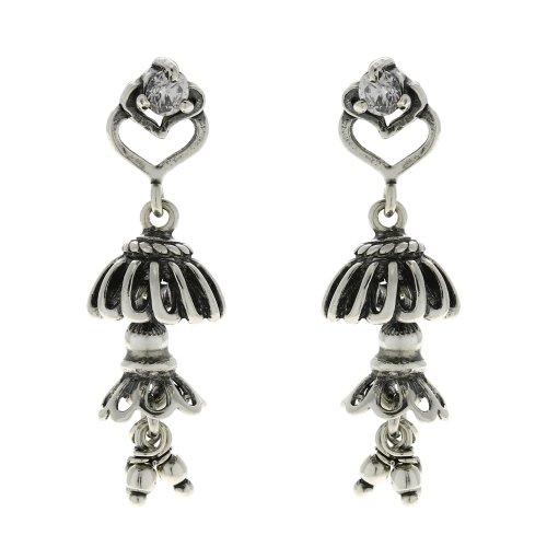 Jhumki Earrings For Women Dangle Jewellery Indian Sterling Silver