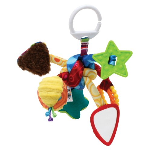 Lamaze Push and Pull Toy, Tug and Play Knot