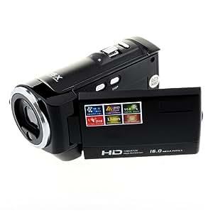 OftenTM 2,7 pouces LCD Caméscope HD Vidéo Numérique Caméra 1280 x 720 Anti-cecouer Noir