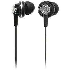 Audio-Technica In-ear Diaphragm Headphones - Black $23.93