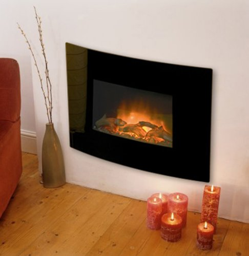 Designer wall mounted electric fires