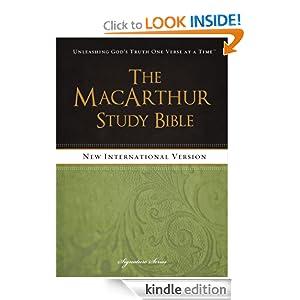 The MacArthur Study Bible, NIV (Signature):Amazon:Kindle Store