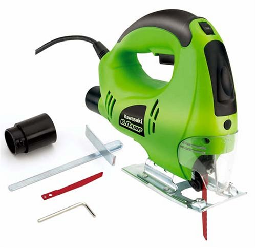 Kawasaki 840276 6-Amp Orbital Jig Saw, Green