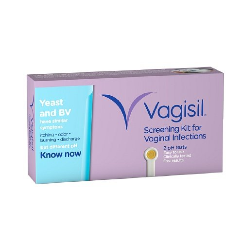 Vagisil Screening Kit For Vaginal Infections, 2 Ea