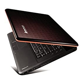 Lenovo Y-550 15.6-Inch Black Laptop - Up to 4.5 Hours of Battery Life
