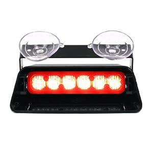 whelen spitfire ion super led dash light red. Black Bedroom Furniture Sets. Home Design Ideas