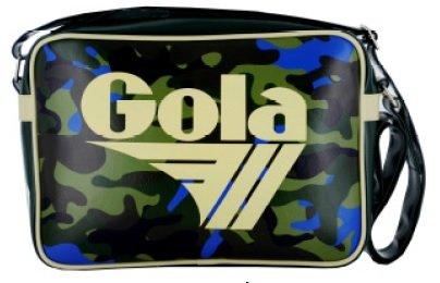 BORSA GOLA MIDI REDFORD CAMO BRIGHT FOREST GREEN/DARK/NEON BLUE