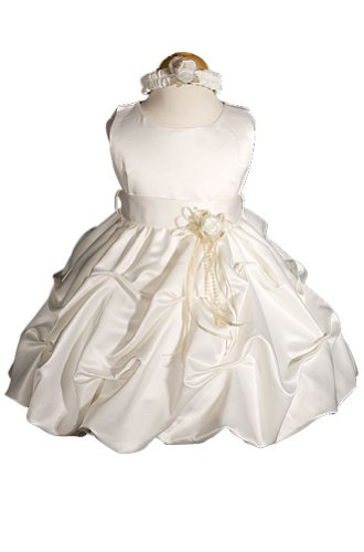 AMJ Dresses Inc Ivory Infant Flower Girl Wedding