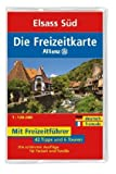 echange, troc Atul Kochhar - Freizeitkarte Allianz Elsass Süd 1 : 120 000