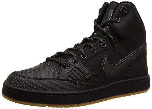 Nike Son Of Force Mid Winter Scarpe da ginnastica, Uomo, Nero (Black/Black/Anthracite/Gum Light Brown), 42