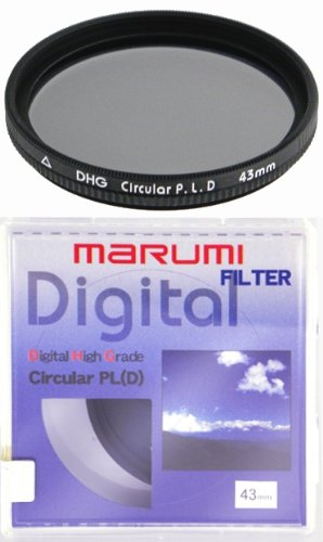 43mm 43 Marumi DHG MC CPL Slim Thin Filter Japan