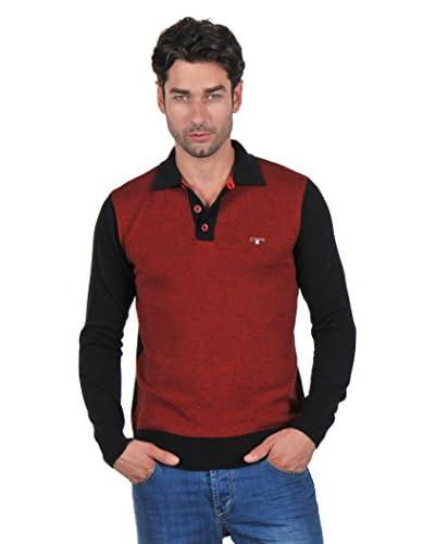 Giorgio Di Mare Jersey Negro / Rojo