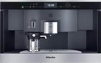 Miele CVA 6431 Einbau-Kaffeevollautomat mit Nespresso System/ 35-er Nische, edelstahl