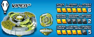 Mega Bloks Battle Strikers Turbo Tops Viper Reload Striker Metal XS