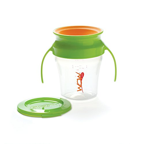 Wow Baby Spill Free 360 Training Cup - Green - 7 oz