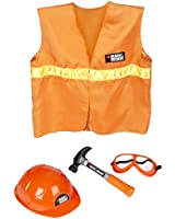 Black and Decker Jr Dress Up and Play Safety Set