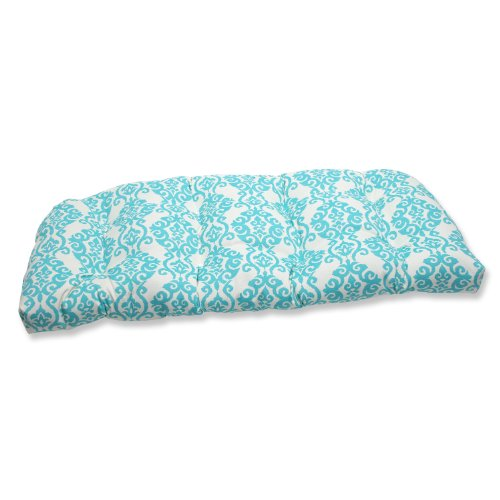 Pillow Perfect Outdoor Luminary Wicker Loveseat Cushion, Turquoise link 381 bluetooth v3 0 music receiver w handsfree black
