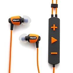 Klipsch Image S4i Rugged In-Ear Headphone with Mic (Orange)